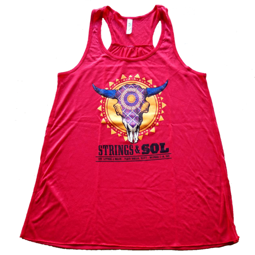 Strings & Sol 2019 Women's Cut Skull Tank