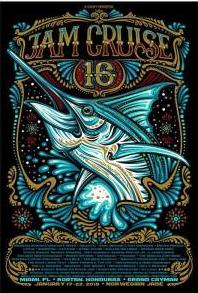 Jam Cruise 16 Marlin Poster (2018)