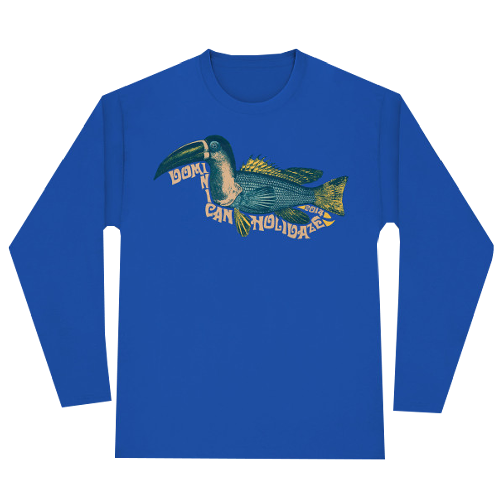 Dominican Holidaze 2014 Toucan Fish Long Sleeve