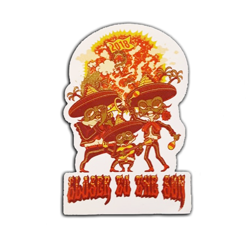 Closer to the Sun 2018 Sticker (Includes Shipping)