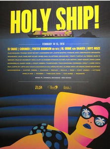 Holy Ship! Feb. 2016 Poster