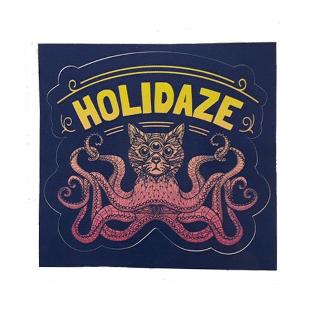 Holidaze 2018 Sticker (Includes Shipping)