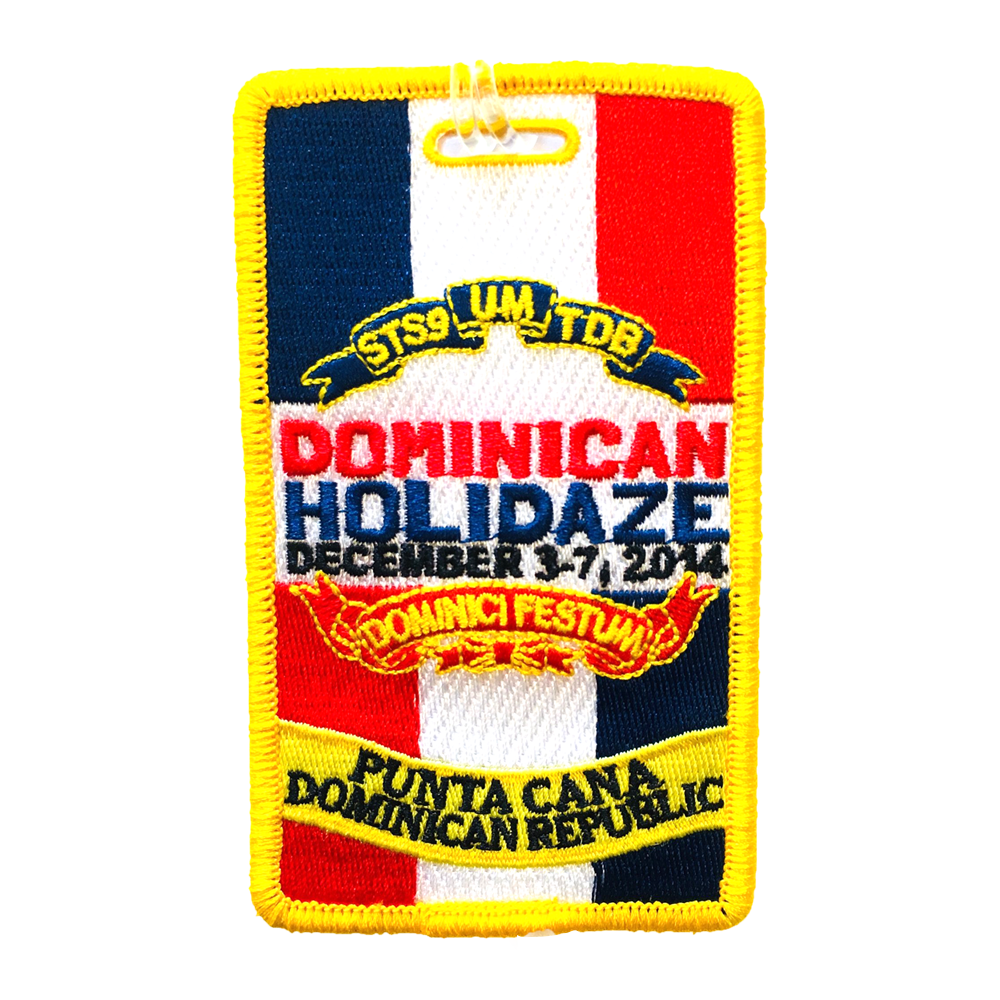 Dominican Holidaze 2014 Luggage Tag (Includes Shipping)