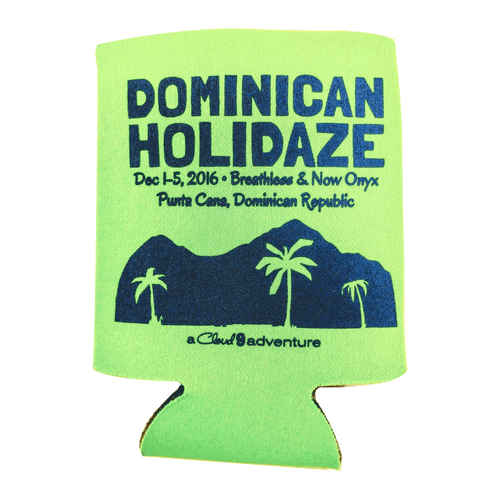 Dominican Holidaze Koozie - 2016 (Includes Shipping)