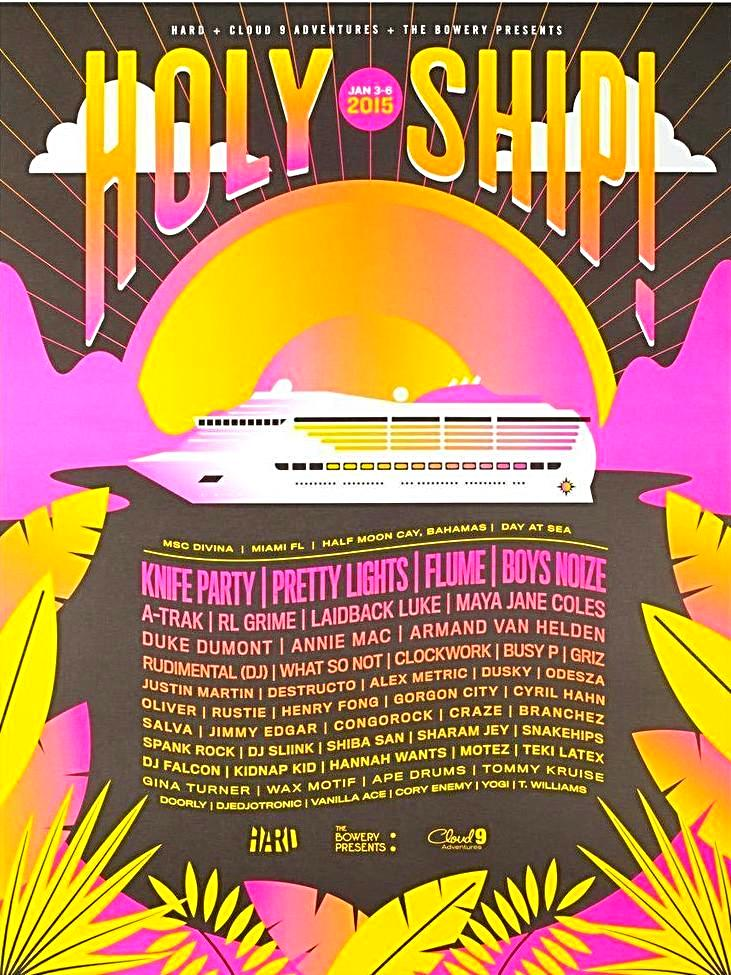 Holy Ship! Jan. 2015 Poster