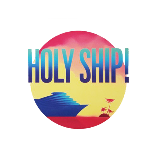 Holy Ship! Sticker (Includes Shipping)