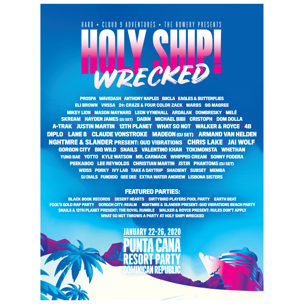 Holy Ship! Wrecked 2020 Poster