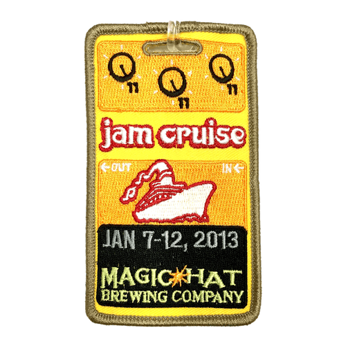 Jam Cruise 11 Luggage Tag (Includes Shipping)