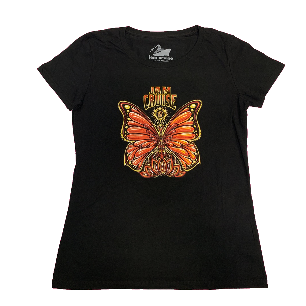 Jam Cruise 17 Women's Butterfly T-Shirt