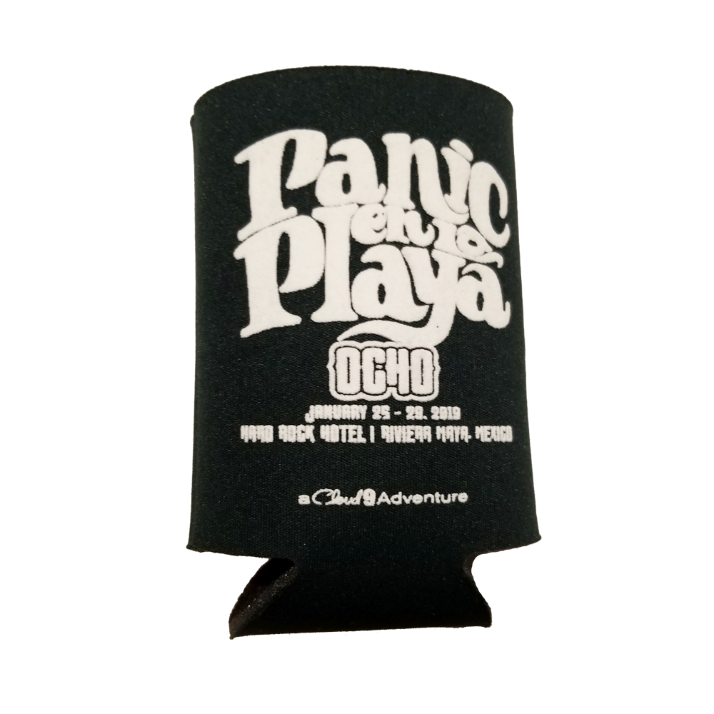 Panic en La Playa Ocho Koozie (Includes Shipping)