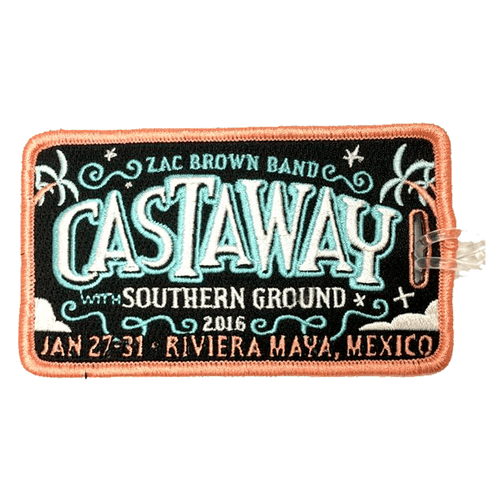 Castaway with Southern Ground Luggage Tag - 2016 (Includes Shipping)