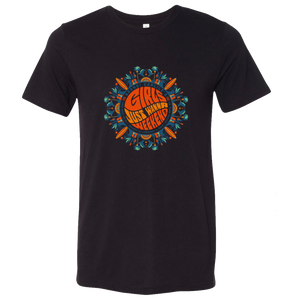 Girls Just Wanna Weekend 2 Unisex Mandala Shirt