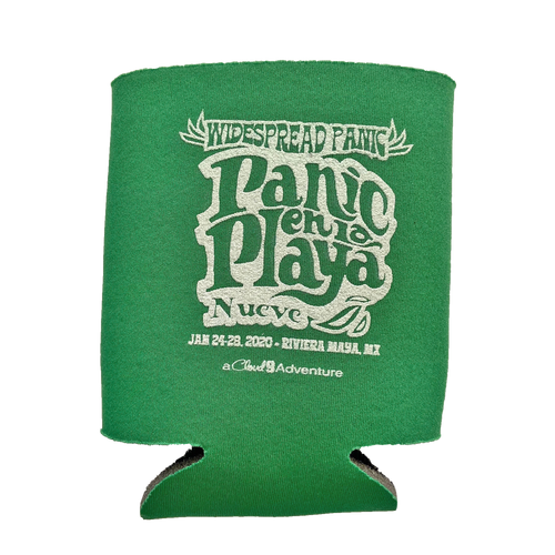 Panic en La Playa Nueve Koozie (Includes Shipping)