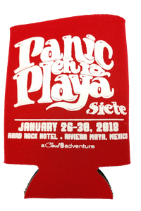 Panic en La Playa Siete Koozie - 2018 (Includes Shipping)