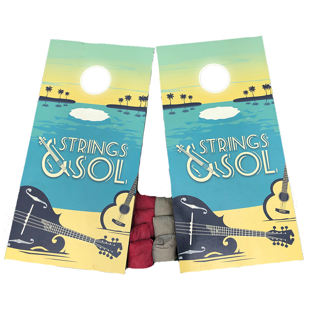 Strings & Sol 2014 Cornhole Boards (Includes Shipping)*