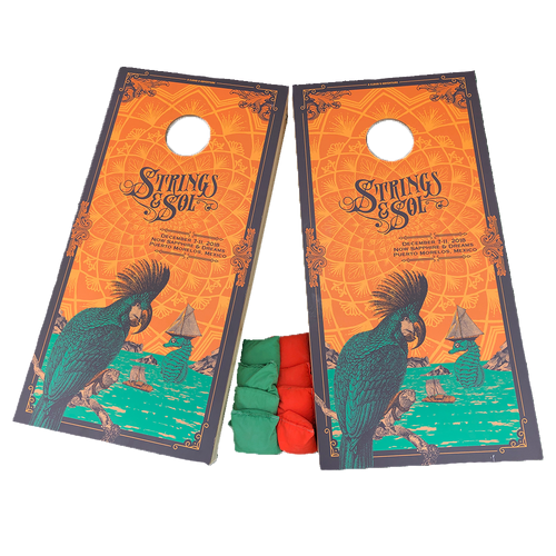 2018 Strings & Sol Cornhole Boards (Includes Shipping)*