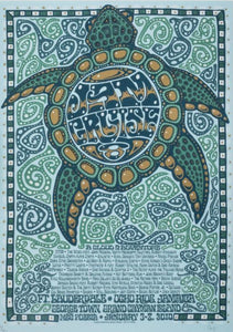 Jam Cruise 8 Turtle Poster (2010)