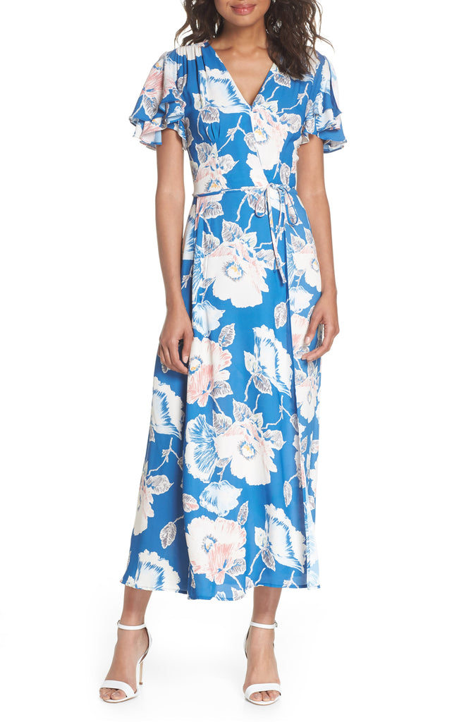 French Connection | Crepe Floral-Print Maxi Dress
