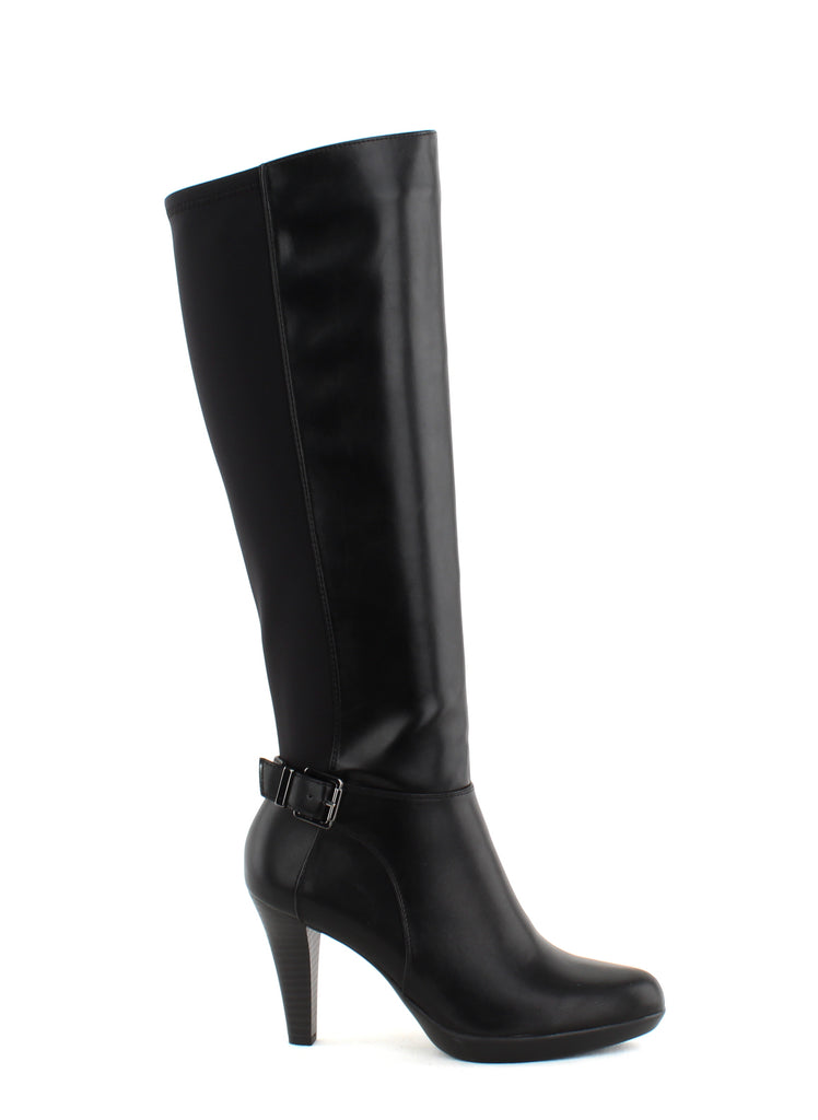 Yieldings Discount Shoes Store's Vennuss Riding Boots by Alfani in Black