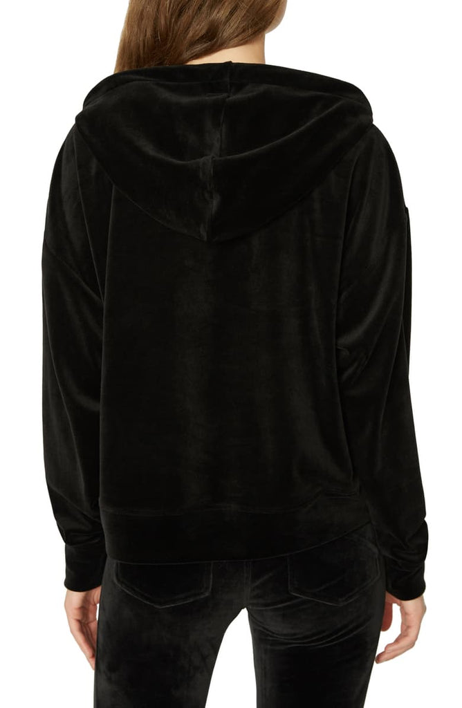 Sanctuary | Melrose Brigade Velour Hoodie Sweater