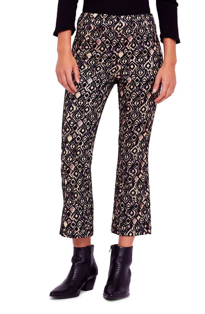 Yieldings Discount Clothing Store's Mod Crop Boot Pants by Free People in Multi