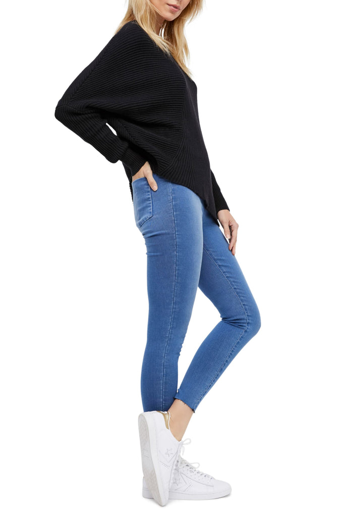 Yieldings Discount Clothing Store's Easy Goes It Jeggings by Free People in Light Denim