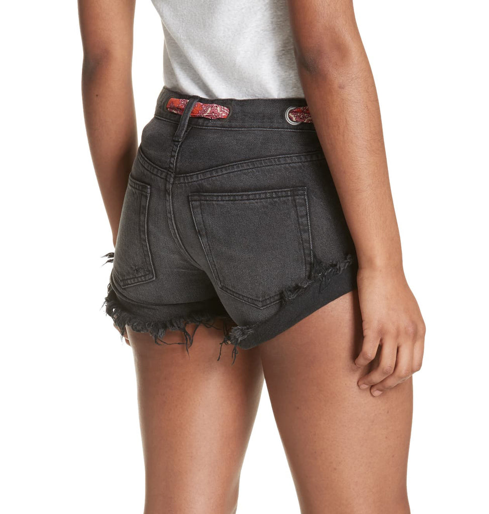 Yieldings Discount Clothing Store's Sashes & Relaxed Shorts by Free People in Haven Black