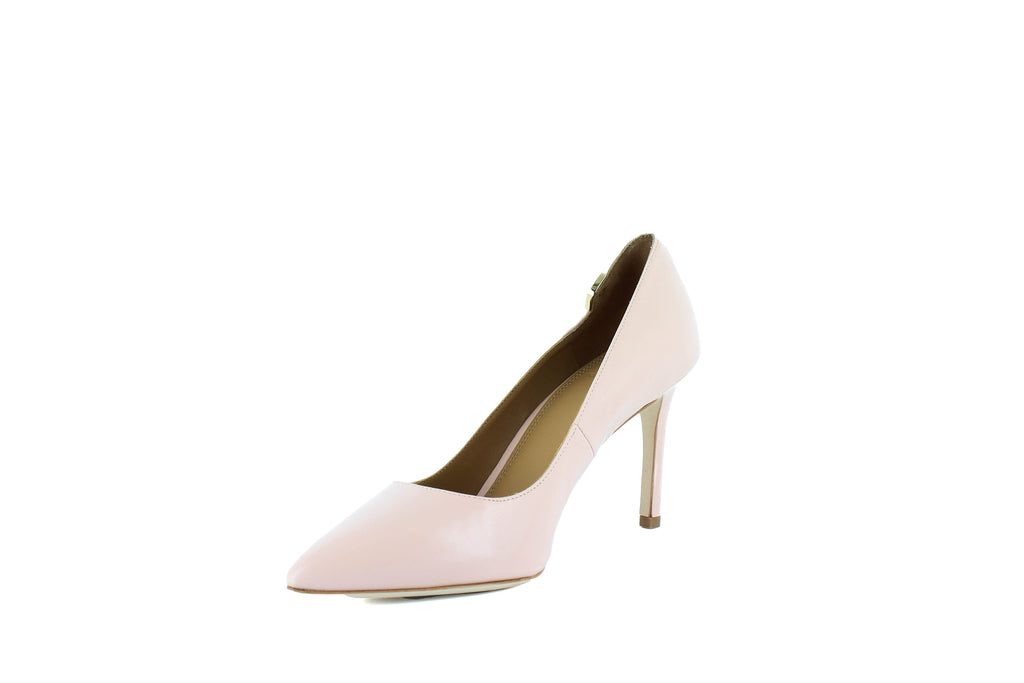 Yieldings Discount Shoes Store's Elizabeth Leather Pumps by Tory Burch in Sea Shell Pink