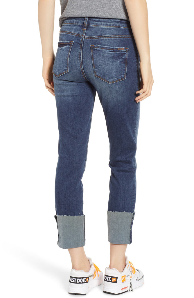STS Blue | Lucia Cuffed Straight Leg Jeans