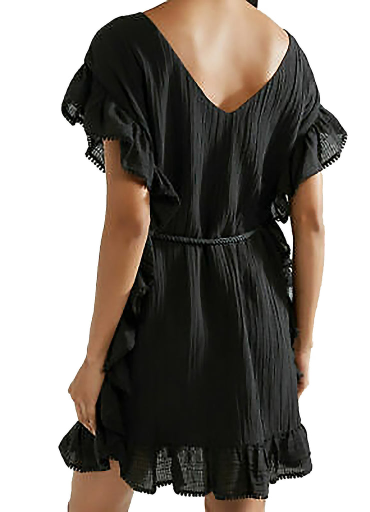 Yieldings Discount Clothing Store's Serafina Dress by Rachel Zoe in Black