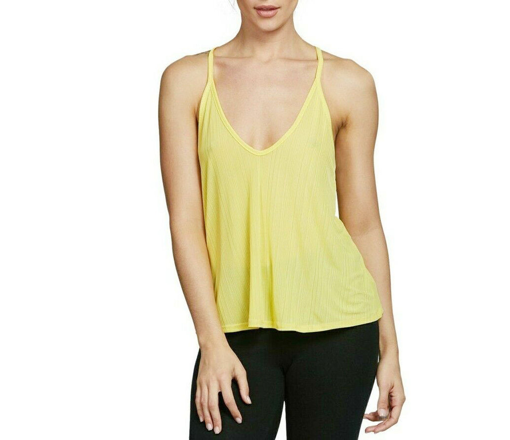 Yieldings Discount Clothing Store's Slinky Slink Ribbed Tank by Free People in Yellow