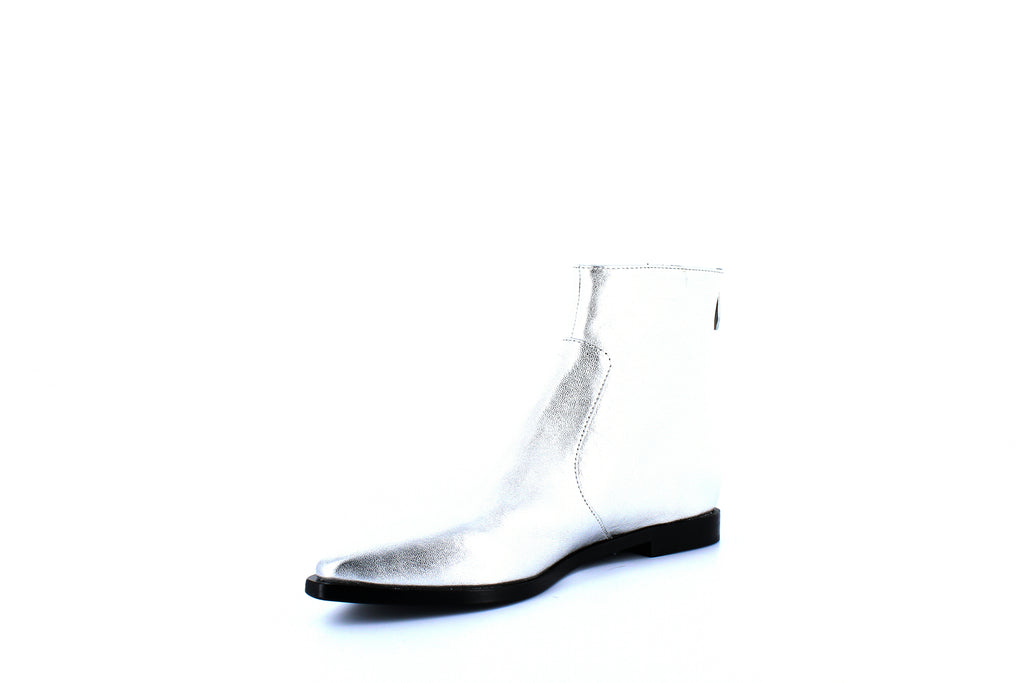 Yieldings Discount Shoes Store's Eranthe Boots by Sigerson Morrison in Silver
