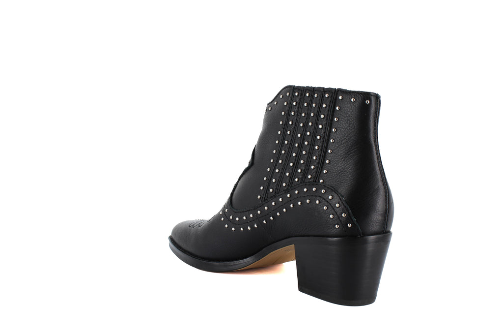 Yieldings Discount Shoes Store's Dexter Studded Booties by Dolce Vita in Black