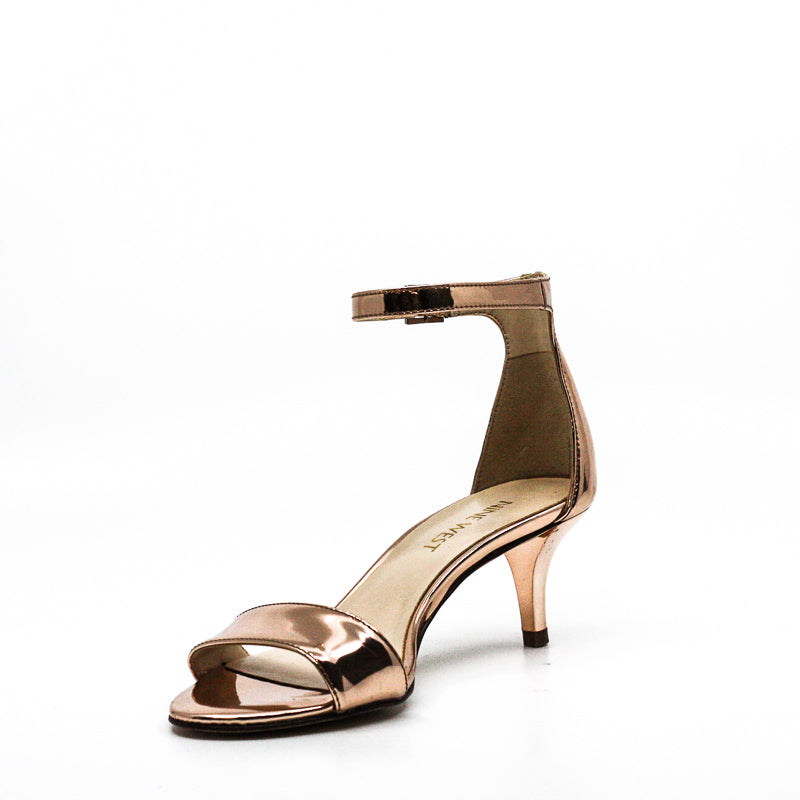 Yieldings Discount Shoes Store's Leisa Heel Sandals by Nine West in Pink