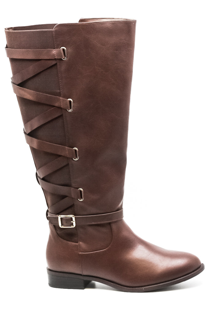 Thalia Sodi | Veronika Wide Calf Tall Boots