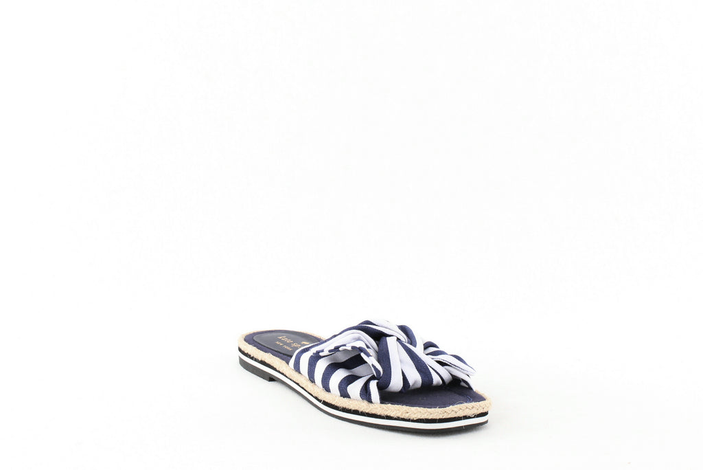 Yieldings Discount Shoes Store's Caliana Sandals by Kate Spade in Navy/White