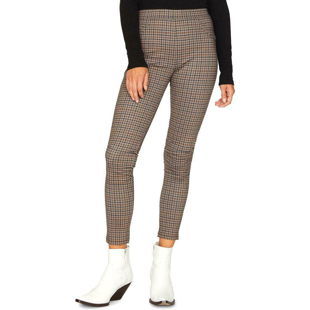 Yieldings Discount Clothing Store's Grease Plaid Leggings by Sanctuary in Autumn Check Plaid