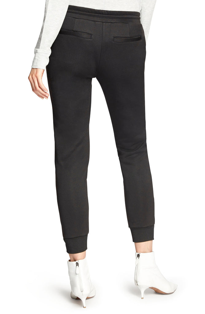 Yieldings Discount Clothing Store's Sport-Seamed Jogger Pants by Sanctuary in Black