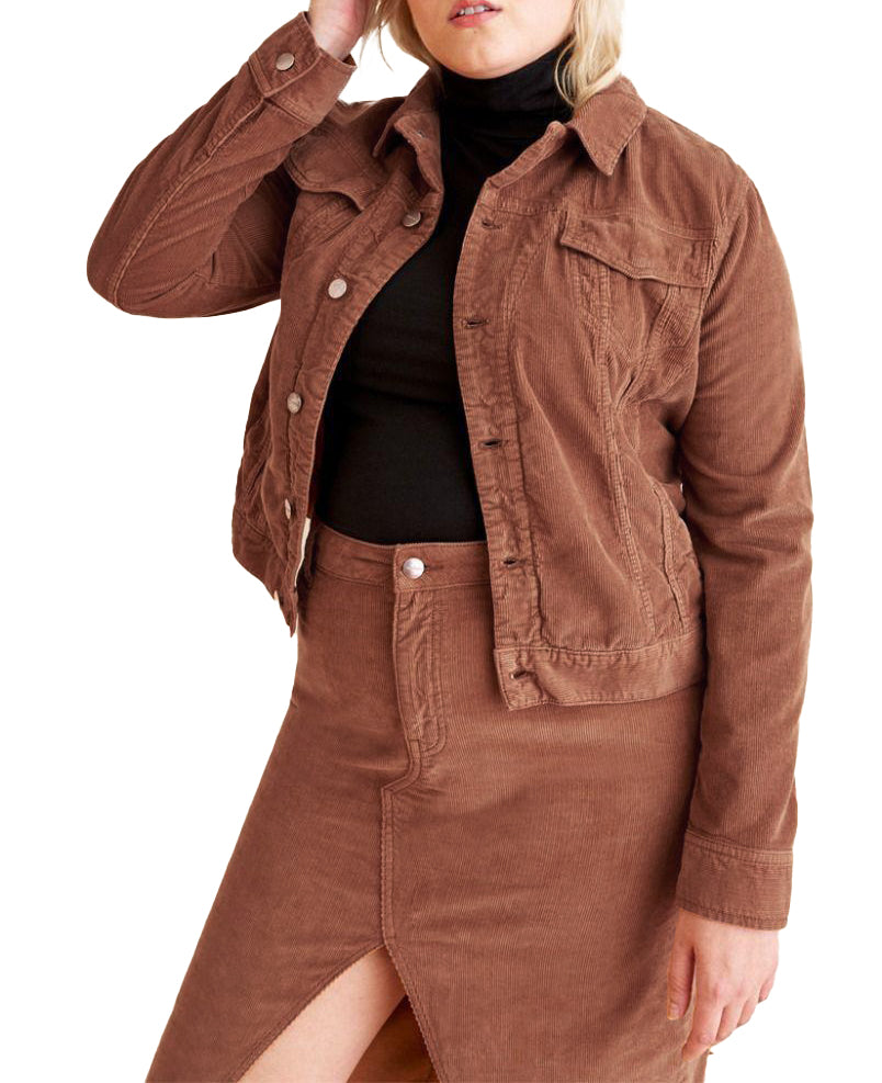 Yieldings Discount Clothing Store's OSL - Jacket by Warp + Weft in Dusty Cedar