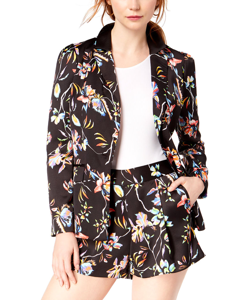 Yieldings Discount Clothing Store's Floral Printed Blazer by Bar III in Prism Lilies