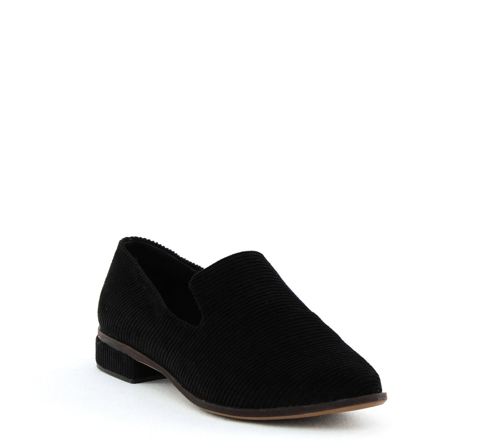 Yieldings Discount Shoes Store's Arbor Simple Loafers by Kelsi Dagger in Black