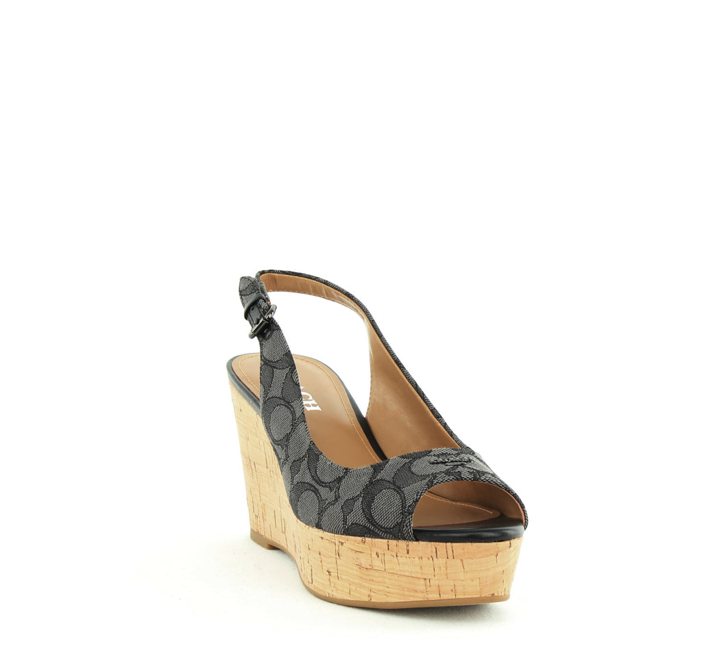 Coach | Ferry Monogram Wedges