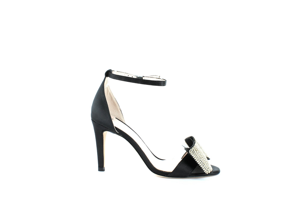 Yieldings Discount Shoes Store's Gweneth Heeled Sandals by Kate Spade in Black