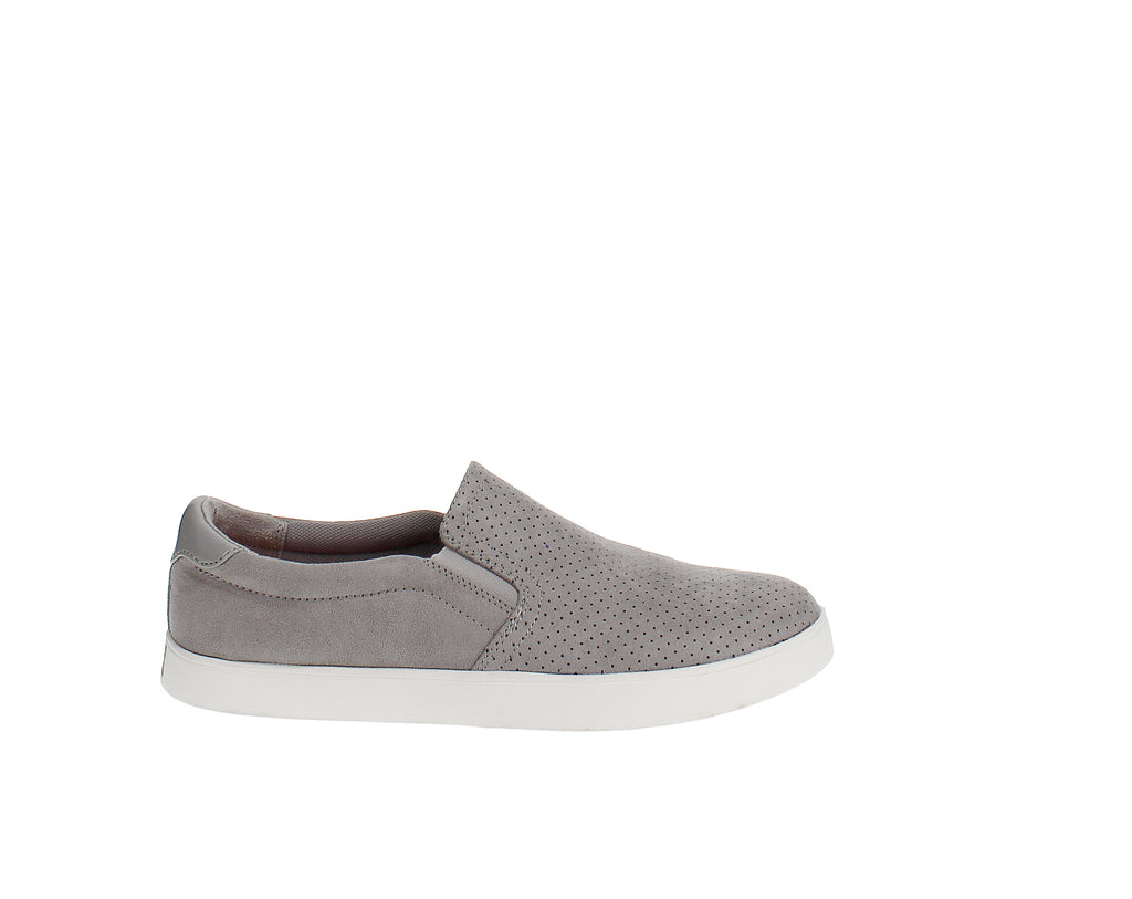 Yieldings Discount Shoes Store's Madison Sneakers by Dr. Scholl's in Grey
