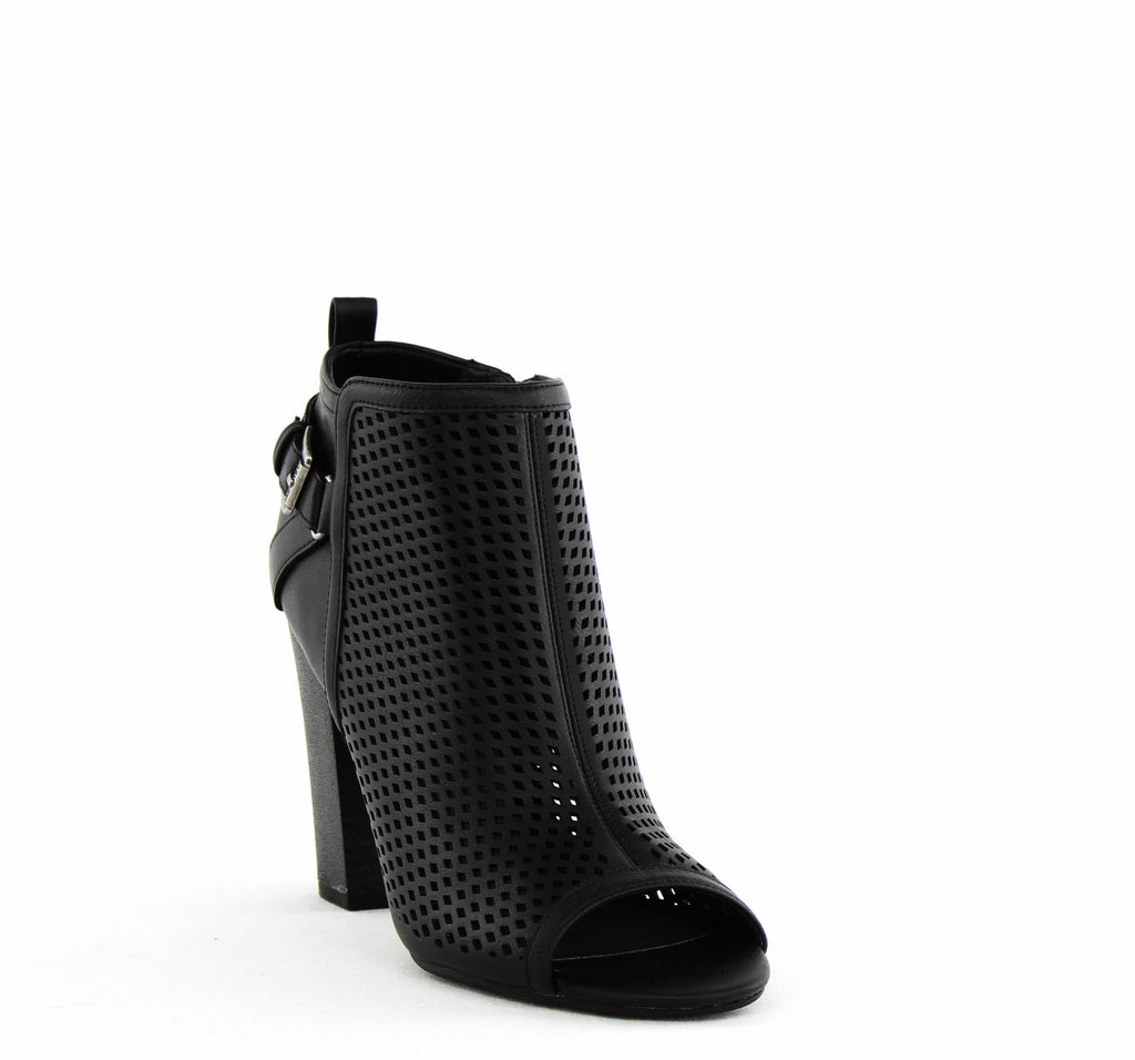 G By Guess | Jerzy Perforated Faux Leather Booties