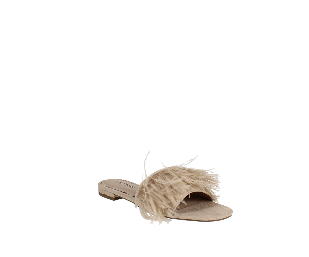 Yieldings Discount Shoes Store's Taylah Flat Sandal by Zigi Soho in Cinnamon