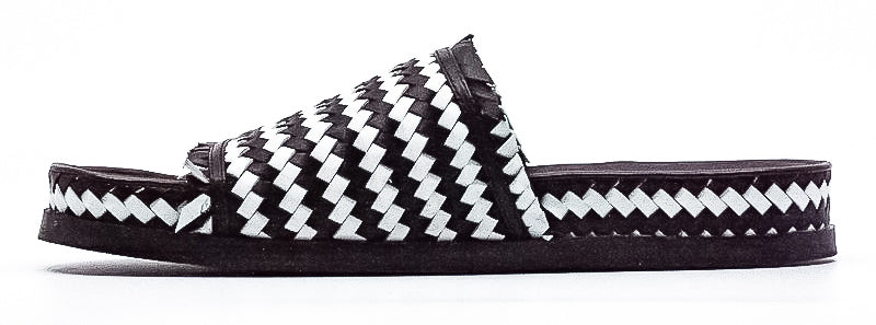 Sigerson Morrison | Woven Cationic Sheep Slip-Ons