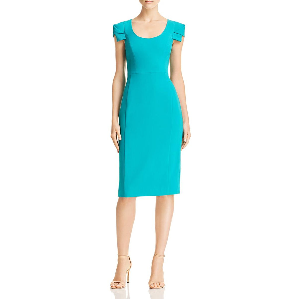 Yieldings Discount Clothing Store's Amelie Sheath Dress by Black Halo in Verdant
