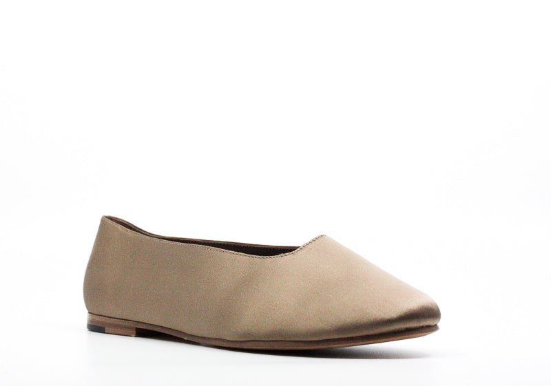 Yieldings Discount Shoes Store's Maxwell 2 Slip-On Flats by Vince in Beige