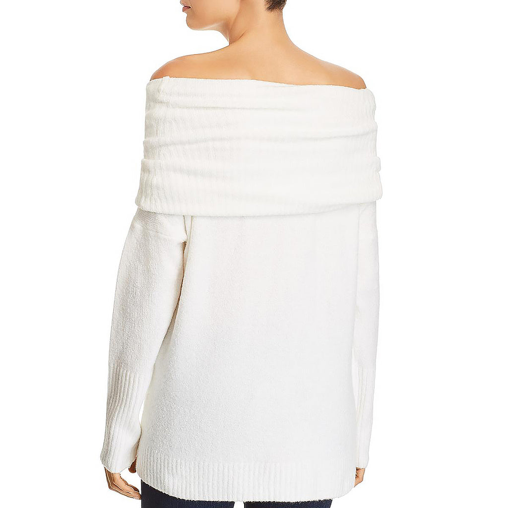 Yieldings Discount Clothing Store's Cowl-Neck Sweater by French Connection in White